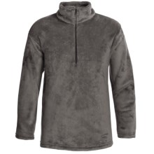 Kenyon High-Loft Polartec® Fleece Pullover - Zip Neck (For Men) in Graphite - 2nds