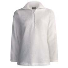 Kenyon High-Loft Polartec® Fleece Pullover - Zip Neck (For Women) in White - 2nds