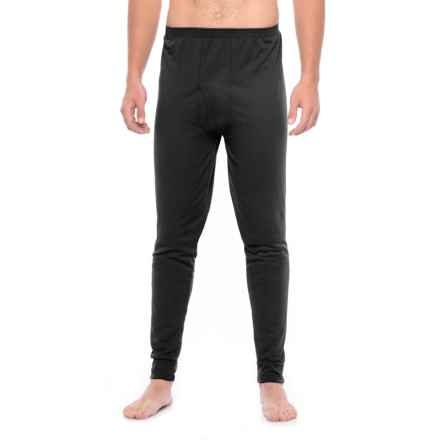 Kenyon Midweight Waffle Base Layer Pants (For Tall Men) in Black - Closeouts