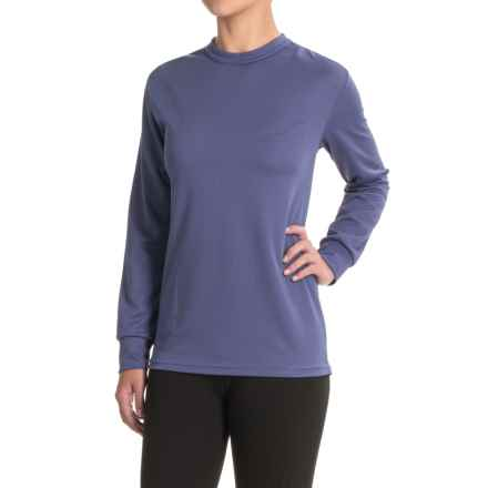 Kenyon Midweight Waffle-Knit Shirt - Crew Neck, Long Sleeve (For Women) in Mid Blue - Closeouts