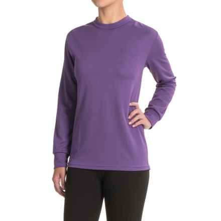 Kenyon Midweight Waffle-Knit Shirt - Crew Neck, Long Sleeve (For Women) in Purple - Closeouts