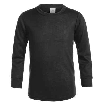 Kenyon Outlast Thermal Base Layer Top - Crew Neck, Long Sleeve (For Big Boys and Girls) in Black - Closeouts