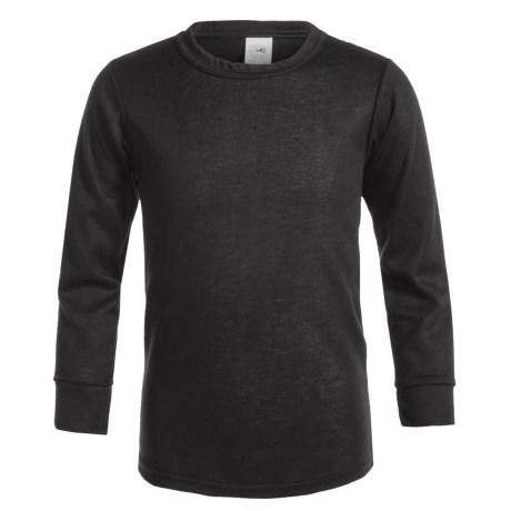 Kenyon Outlast Thermal Base Layer Top - Crew Neck, Long Sleeve (For Big Boys and Girls) in Black