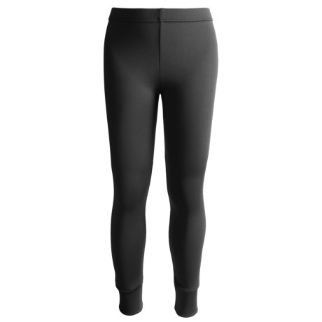 Kenyon Polarskins Base Layer Bottoms - Midweight (For Boys and Girls) in Black
