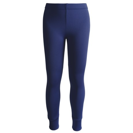 Kenyon Polarskins Base Layer Bottoms - Midweight (For Boys and Girls) in Navy