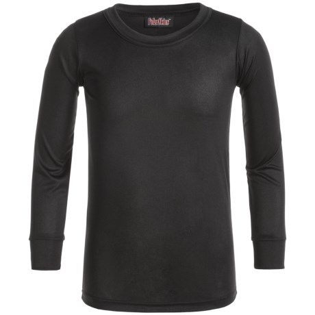 Kenyon Polarskins Base Layer Crew Top - Long Sleeve (For Big Boys and Girls) in Black