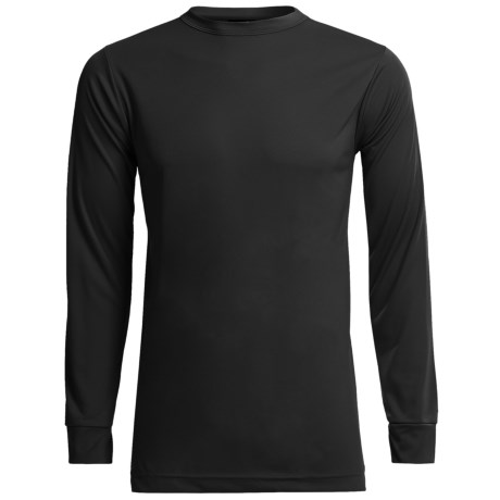 Kenyon Polarskins Base Layer Top - Lightweight, Long Sleeve (For Tall Men) in Black