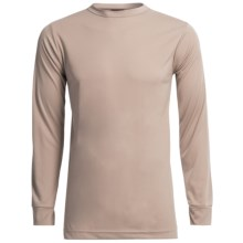 Kenyon Polarskins Base Layer Top - Lightweight, Long Sleeve (For Tall Men) in Khaki - Closeouts