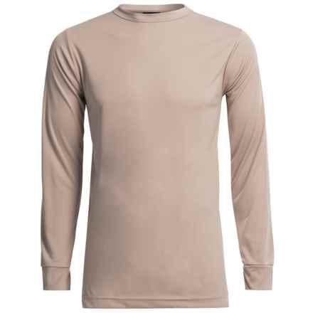Kenyon Polarskins Base Layer Top - Lightweight, Long Sleeve (For Tall Men) in Khaki - Closeouts
