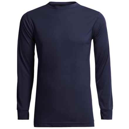 Kenyon Polarskins Base Layer Top - Lightweight, Long Sleeve (For Tall Men) in Navy - Closeouts