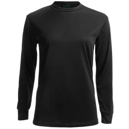 Kenyon Polarskins Base Layer Top - Lightweight, Long Sleeve (For Women) in Black - Closeouts