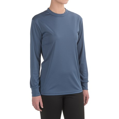 Kenyon Polarskins Base Layer Top - Lightweight, Long Sleeve (For Women) in Med Blue