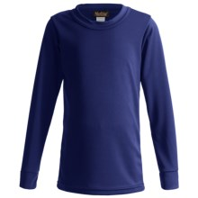Kenyon Polarskins Base Layer Top - Midweight, Long Sleeve (For Boys & Girls) in Navy - Closeouts