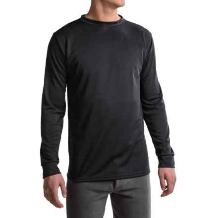 Kenyon Polarskins Base Layer Top - Midweight, Long Sleeve (For Tall Men) in Black - Closeouts
