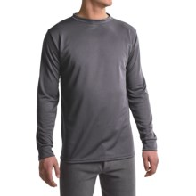 Kenyon Polarskins Base Layer Top - Midweight, Long Sleeve (For Tall Men) in Grey - Closeouts