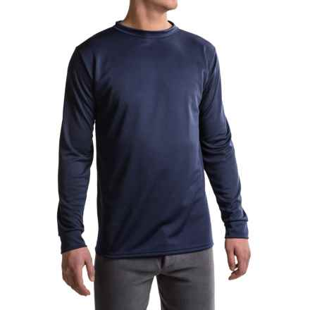 Kenyon Polarskins Base Layer Top - Midweight, Long Sleeve (For Tall Men) in Navy - Closeouts