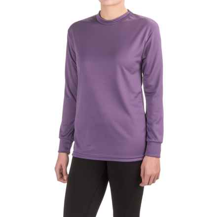 Kenyon Polarskins Base Layer Top - Midweight, Long Sleeve (For Women) in Purple - Closeouts