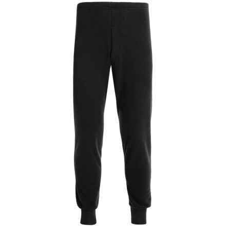 Kenyon Polarskins Expedition Base Layer Bottoms - Heavyweight (For Tall Men) in Black - Closeouts