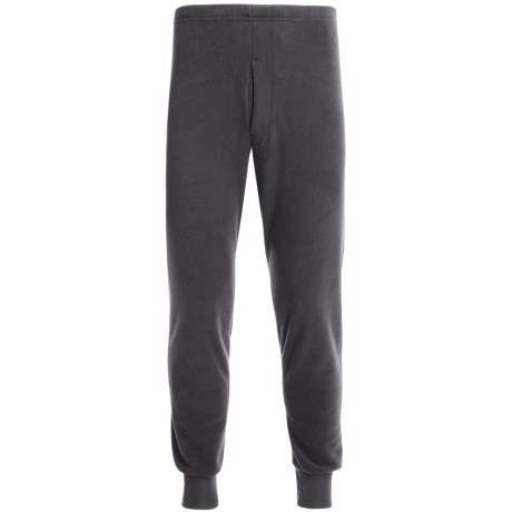 Kenyon Polarskins Expedition Base Layer Bottoms - Heavyweight (For Tall Men) in Black