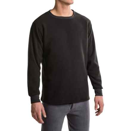 Kenyon Polarskins Expedition Base Layer Top - Heavyweight, Long Sleeve (For Men) in Black - Closeouts