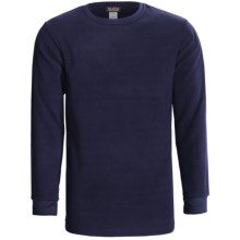 Kenyon Polarskins Expedition Base Layer Top - Heavyweight, Long Sleeve (For Tall Men) in Navy - Closeouts