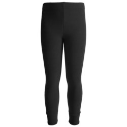 Kenyon Polarskins Expedition Weight Base Layer Bottoms (For Boys and Girls) in Black