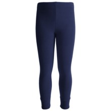 Kenyon Polarskins Expedition Weight Base Layer Bottoms (For Boys and Girls) in Navy - Closeouts