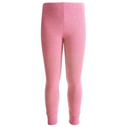 Kenyon Polarskins Expedition Weight Base Layer Bottoms (For Boys and Girls) in Pink - Closeouts