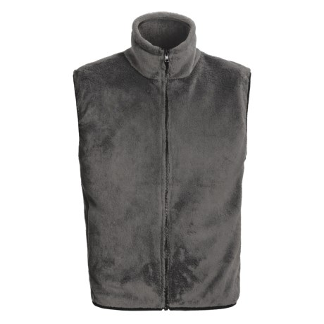 Kenyon Polartec® High-Loft Fleece Vest (For Men) in Graphite