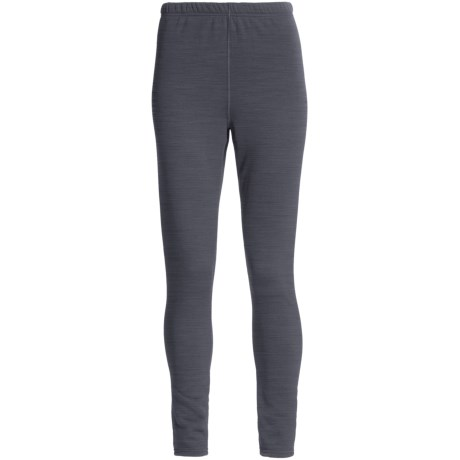Kenyon Polartec® Power Stretch® Base Layer Bottoms (For Women) in Charcoal Heather