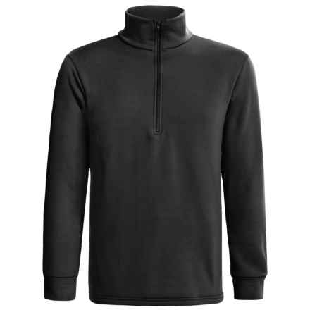 Kenyon Polartec® Power Stretch® Base Layer Top - Heavyweight, Zip Neck, Long Sleeve (For Men) in Black - 2nds