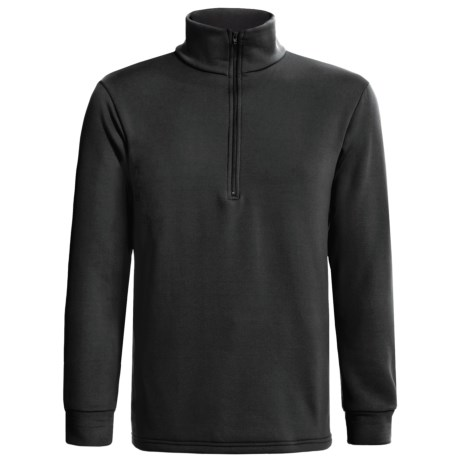 Kenyon Polartec® Power Stretch® Base Layer Top - Heavyweight, Zip Neck, Long Sleeve (For Men) in Black