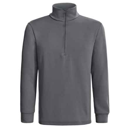 Kenyon Polartec® Power Stretch® Base Layer Top - Heavyweight, Zip Neck, Long Sleeve (For Men) in Dark Grey - 2nds