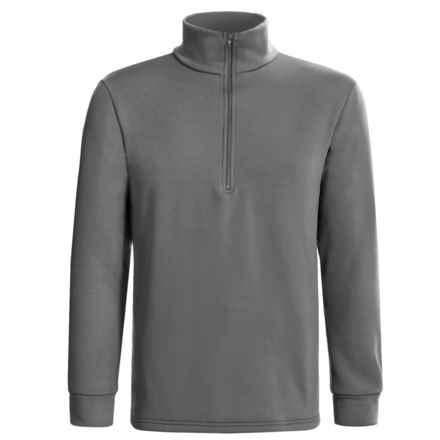 Kenyon Polartec® Power Stretch® Base Layer Top - Heavyweight, Zip Neck, Long Sleeve (For Men) in Grey - 2nds