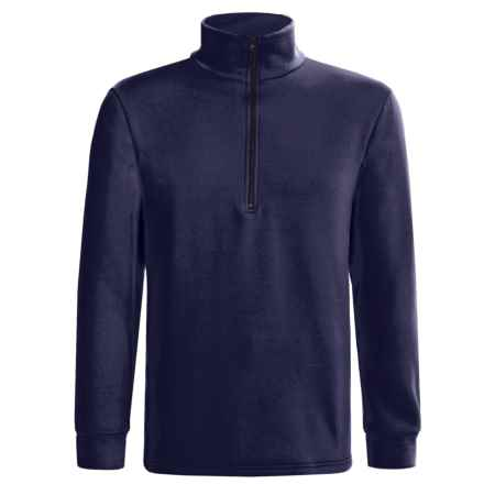 Kenyon Polartec® Power Stretch® Base Layer Top - Heavyweight, Zip Neck, Long Sleeve (For Men) in Navy - 2nds