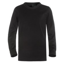 Kenyon Polartec® Power Stretch® Base Layer Top - Lightweight, Long Sleeve (For Little and Big Kids) in Black - Closeouts