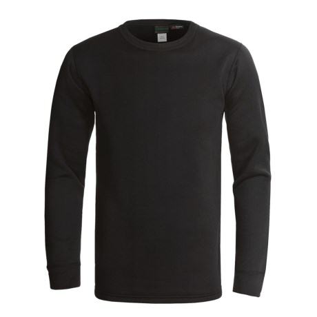 Kenyon Polartec® Power Stretch® Base Layer Top - Lightweight, Long Sleeve (For Men) in Black