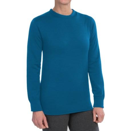 Kenyon Polartec® PowerStretch® Base Layer Top - Long Sleeve (For Women) in Blue