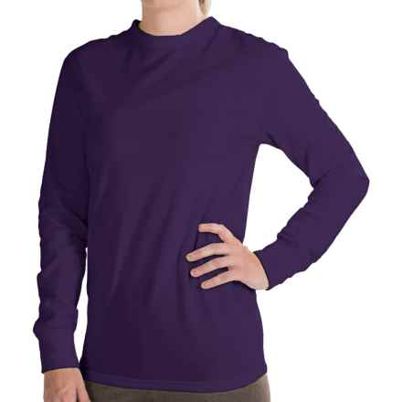 Kenyon Polartec® PowerStretch® Base Layer Top - Long Sleeve (For Women) in Dark Purple - Closeouts