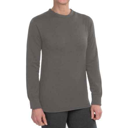 Kenyon Polartec® PowerStretch® Base Layer Top - Long Sleeve (For Women) in Grey - Closeouts