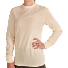Kenyon Polartec® PowerStretch® Base Layer Top - Long Sleeve (For Women) in Natural - Closeouts