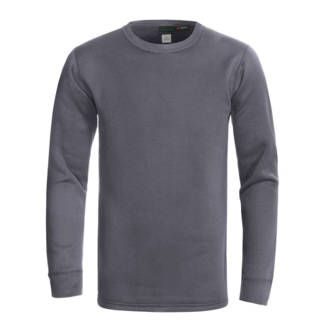 Kenyon Power Stretch® Base Layer Top - Lightweight, Long Sleeve (For Men) in Dark Grey