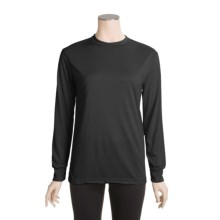 Kenyon Silk-Weight Polartec® Top - Base Layer, Long Sleeve (For Women) in Black - 2nds