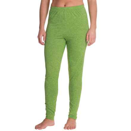 Kenyon Space-Dye Base Layer Pants (For Women) in Green/Black - Closeouts