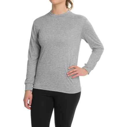 Kenyon Space-Dye Base Layer Top - Long Sleeve (For Women) in Black/White - Closeouts