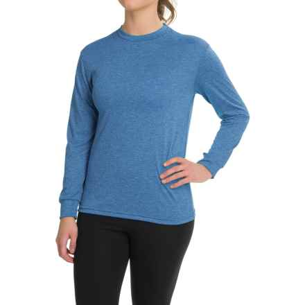 Kenyon Space-Dye Base Layer Top - Long Sleeve (For Women) in Blue/Black - Closeouts