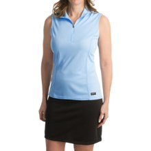 Kerrits Venti Equestrian Shirt - Sleeveless (For Women) in Iceblue - Closeouts