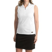 Kerrits Venti Equestrian Shirt - Sleeveless (For Women) in White - Closeouts