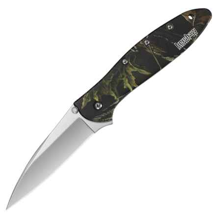 Kershaw Ken Onion Leek Folding Knife in Camo - Closeouts