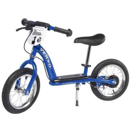 "Kettler 12"" Racer Balance Training Bike in Blue - Closeouts"